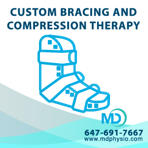Custom Bracing Compression Therapy Mount Dennis Weston Toronto