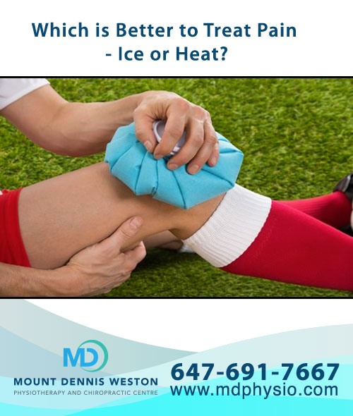 Which is Better to Treat Pain - Ice or Heat?